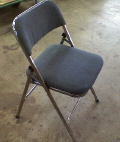 Where to rent CHAIR, CHROME PADDED in Nashville TN